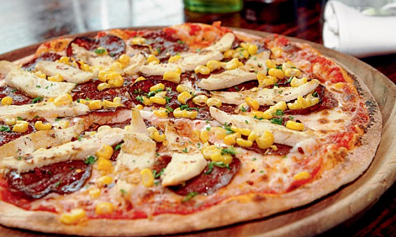 Traditional Thin Crust Pizza