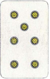 Scopa - Italian card game - Seven of Coins